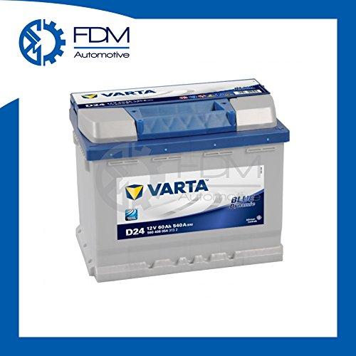 VARTA - 151.08.17 - D24 - Dynamic Blue / 60Ah car battery / battery - Maintenance -: