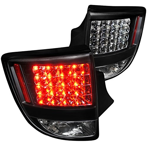 Spec-D Tuning LT-CEL00JMLED-TM Toyota Celica Hatchback Gt Gts Led Tail Lights Black Housing