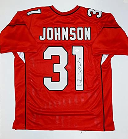 best loved f43ef fc46c David Johnson Arizona Cardinals Autographed NFL Jerseys ...