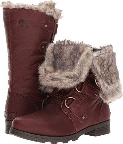 Boots Sorel Premium Lace Womens Major Cordovan Emelie 7 5 wgtwz