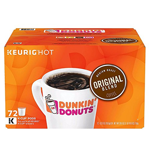 Dunkin' Donuts Original Blend Coffee Pods 72 Count by Dunkin' Donuts (Image #2)