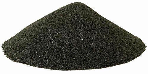 BLACK BEAUTY Abrasive Blast Media Fine Abrasive 20/40 Mesh Size for use in Sandblast Cabinet - 10 -