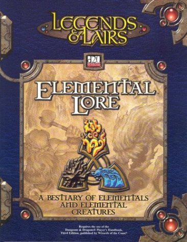 Legends & Lairs: Elemental Lore