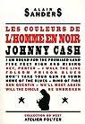 Les couleurs de l'homme en noir. Johnny Cash par Sanders