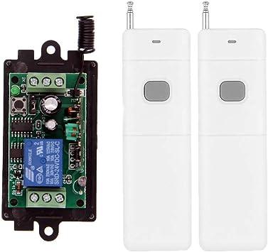 DC 9V 12V24V 1CH RF Wireless Remote Control Switch System Transmitter Receivers