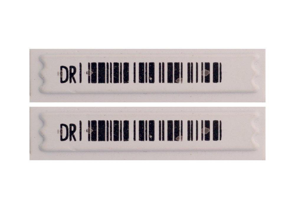58 KHz AM Labels Barcode Style 5,000-Pack NEW