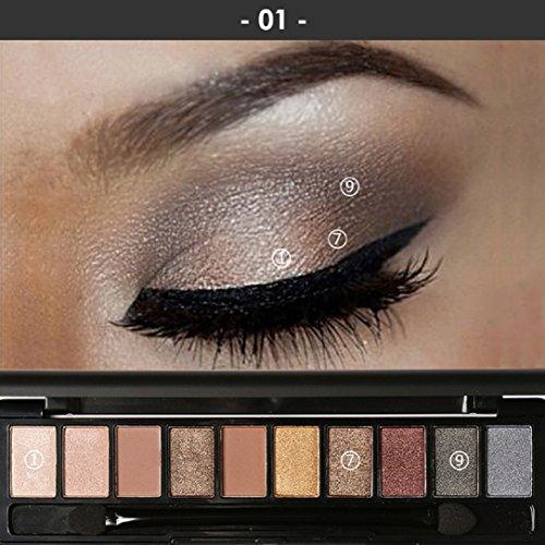 YABINA Eyeshadow Palette Makeup Shimmer product image