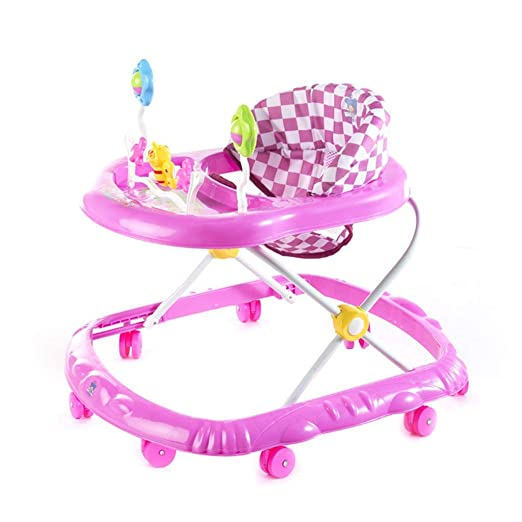 HhGold Baby Green/Pink Walker 6-18 Meses Baby Anti Rollover ...