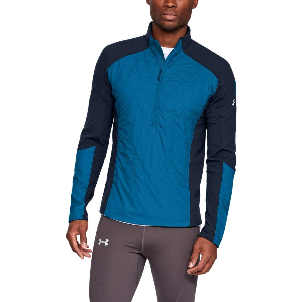 Under Armour Men's Trail Run Hybrid 1/2 Zip Jacket 1316307
