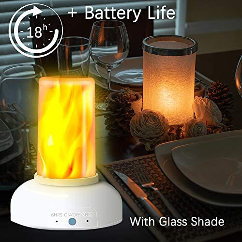 LED Flame Torch Table Lamp product image
