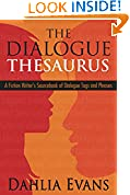 #10: The Dialogue Thesaurus: A Fiction Writer's Sourcebook of Dialogue Tags and Phrases