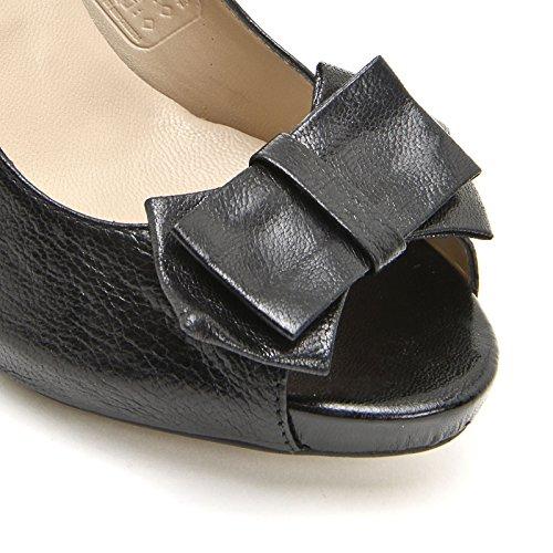 ALESYA by Scarpe&Scarpe - Zapatos de salón sin punta con moño Negro