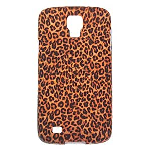hao Brown Leopard Print Pattern TPU Soft Back Cover Case for Samsung Galaxy I9295/I537