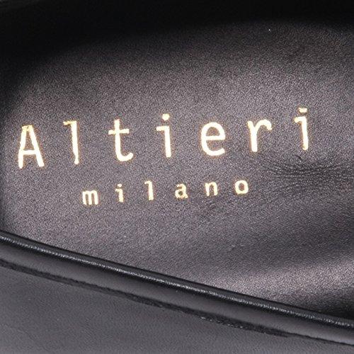 Black Milano Mocassino uomo Scarpa Man Loafer Negro ALTIERI Shoe B5806 TwEqPx