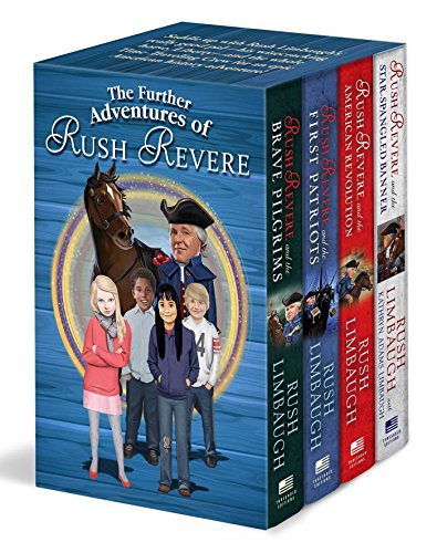The Further Adventures of Rush Revere: Rush Revere and the Brave Pilgrims / Rush Revere and the First Patriots / Rush Revere and the American Revolution / Rush Revere and the Star-Spangled Banner by Threshold Editions (Image #7)
