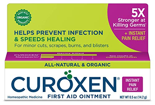 CUROXEN All-Natural & Organic First Aid Ointment with Arnica for Pain Relief ()