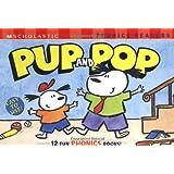 Scholastic Phonics Reader Box Set: Pup and Pop: 12 Fun Phonics Books