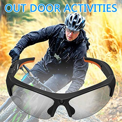 Wireless Sunglasses Camera, LXMIMI Video and Photo Shooting Body Camera with Built-in 32G Memory, Smart Bluetooth Polarized Lenses Camera Glasses for Outdoor Sports Cycling, Hiking
