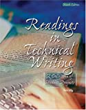 Readings in Technical Writing : A Collection of Student Projects in English 2303, Lilly, Nick, 0757511058
