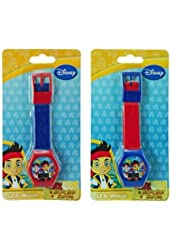 Jake & The Neverland Digital Watch x 1 (1 only assorted style)