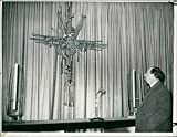 Vintage photo of coventry cathedral39;s architect basil spence