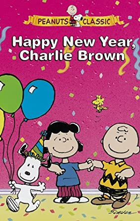 Amazon Com Peanuts Happy New Year Charlie Brown Vhs Chad Allen