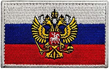 army morale Embroidered patch Baklanova flag Russian Imperial
