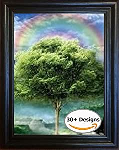 The 3D Art Company- Framed Four Seasons- Unbelievable Life Like 3D Art Pictures, Changes between different images! Lenticular Posters, Cool Art Deco, Unique Wall Art Decor, With Dozens to Choose From!