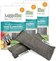 MOSO NATURAL: The Original Air Purifying Bag for Shoes, Gym Bags and Sports Gear. an Unscented, Chemical-Free