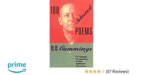 ee cummings free verse