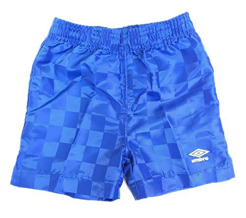 Umbro Boys Checkerboard Shorts, TW Royal/Sulphur Spring, 18 Months (Royal Blue Checkerboard)