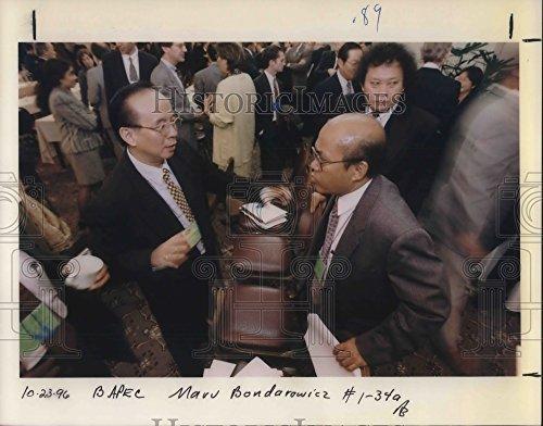 1996 Press Photo Surna Tjohja Djajdiningrat Indonesian Professor On Environment