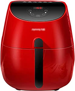 ZYCSKTL Power air Fryer Emeril Air Fryer,Healthy Oil-Free Air Fryer, New Household Multi-Function Electric Oven, Large-Capacity LCD Touch Electric Fryer (Color : Red, Size : 31.52828cm)