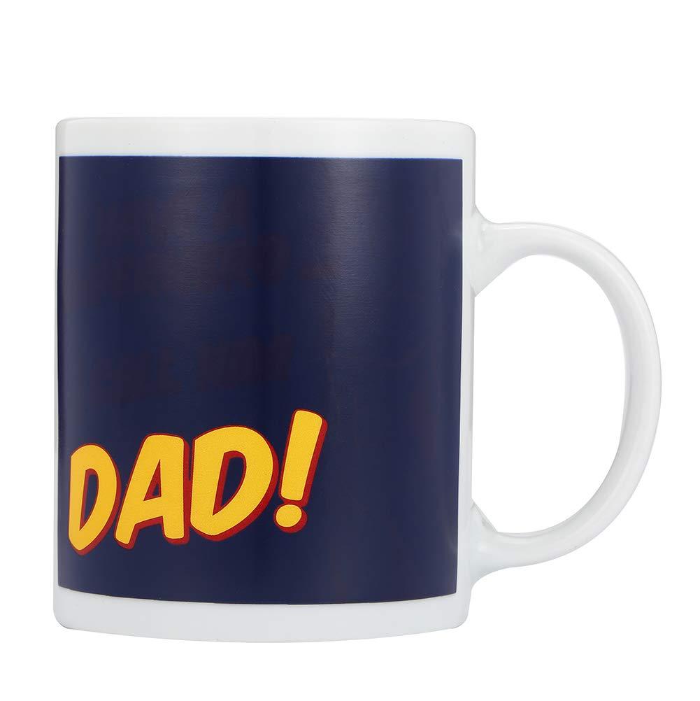 New Dad Coffee Mug 11oz DAD Funny Ceramic Magic Heat Color Changing//Magic Coffee /& Tea Cool Heat Changing Sensitive Cup 11 oz,Drinkware Ceramic Mugs Morning Birthday Christ