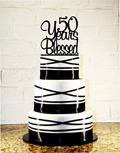 Amazon 50th Birthday Cake Topper