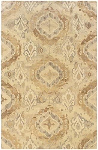 Oriental Weavers 68003 Anastasia Area Rug, 10 x 13 , Beige Ivory