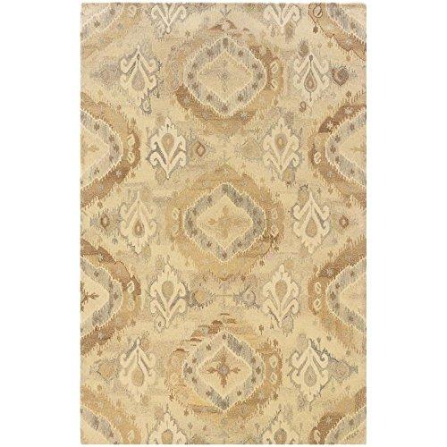 Oriental Weavers 68003 Anastasia Area Rug, 5 x 8 , Beige Ivory