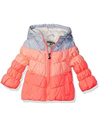 Osh Kosh Girls' Perfect Colorblocked Heavyweight Jacket...