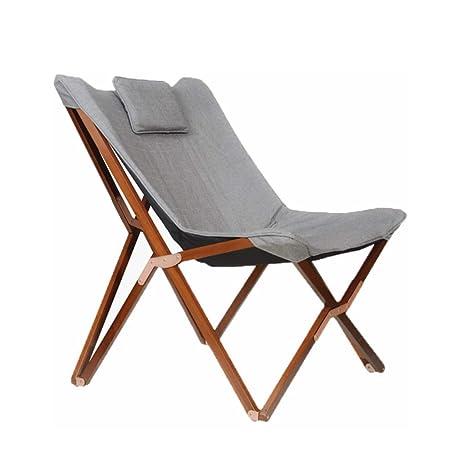 Amazon.com: Silla de salón de relax plegable con cubierta de ...
