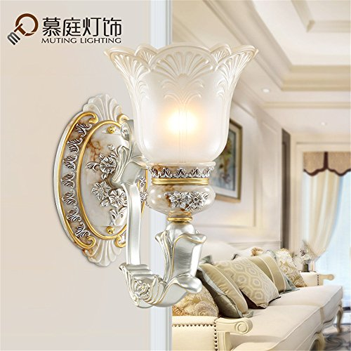 JhyQzyzqj Wall Sconce Wall Lights Simple Modern Staircase Creative Atmosphere Living Room Bedroom Bedside lamp Hotel Corridor Aisle Wall Lamps Wall Lights Resin (30X33cm) Wall Lights