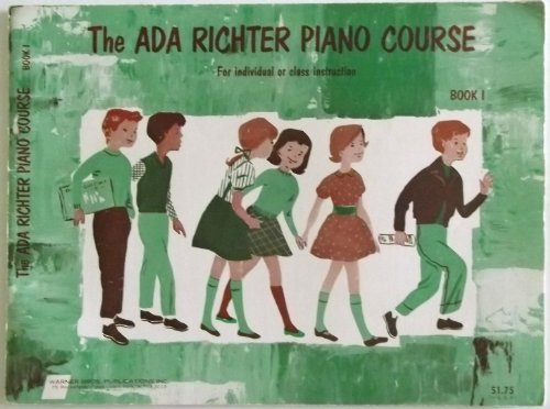 Ada Richter Piano Course in Six Books, Book 1 Only