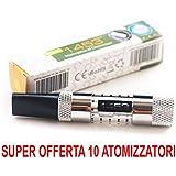 Justfog 1453 Ultimate Offerta ECCEZIONALE 10 Atomizzatori Clearomizer (Prodotto Senza Nicotina)