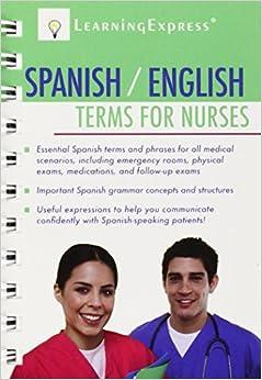 Spanish/english Terms For Nurses por Learning Express Llc epub