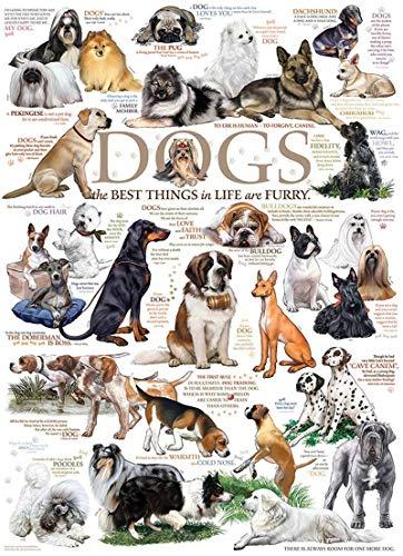 Cobble Hill Dog Quotes Puzzle (1000 Piece)