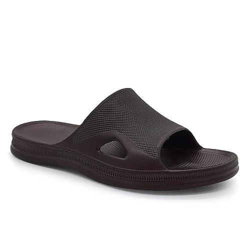 1debbe6b0 FUNKYMONKEY Bathroom Shower Sandal Mens Womens Indoor Home Beach Non Slip  Slippers (7 D(