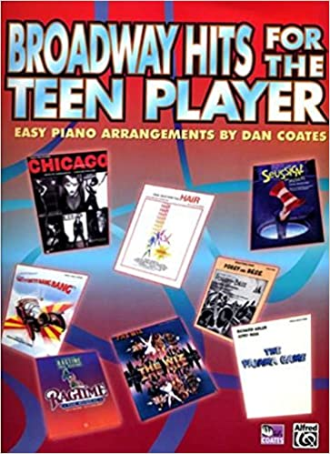 from broadway to hollywood easy piano arrangements by dan coates book 10