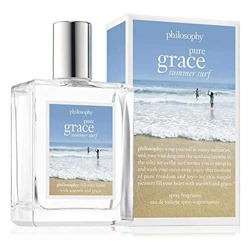 Philosophy Pure Grace Summer Surf for WoMen, Eau de Toilette Spray, 2 (Philosophy Pure Grace Spray Fragrance)