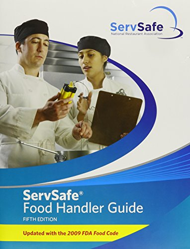 ServSafe Food Handler Guide 5th Edition Update (10 Pack) (5th Edition)