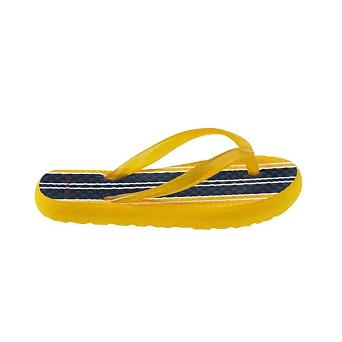 b5388221c5a89b Rafters Boy apos s Waikiki Stripe A Flip-Flops Yellow S  Rafters   Amazon.ca  Clothing   Accessories