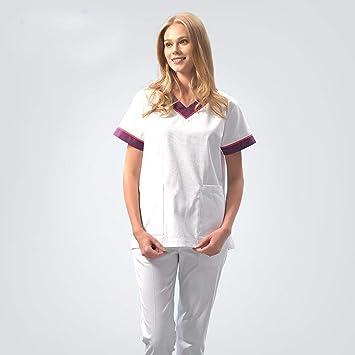 OPPP Ropa médica Ropa de la Enfermera del médico Ropa de Lavado de Hospital Oral de